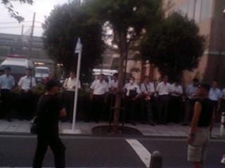法大集会速報@中野駅で